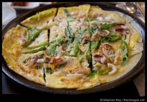 Seafood Pancake - YUM!